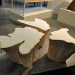 стол из пней дерева