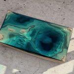 дизайнерский стол океан