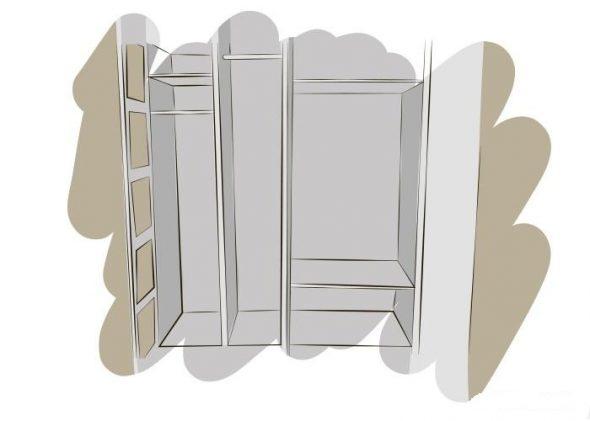 установка фурнитуры в шкаф