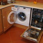 встроить посудомойку в кухонный гарнитур