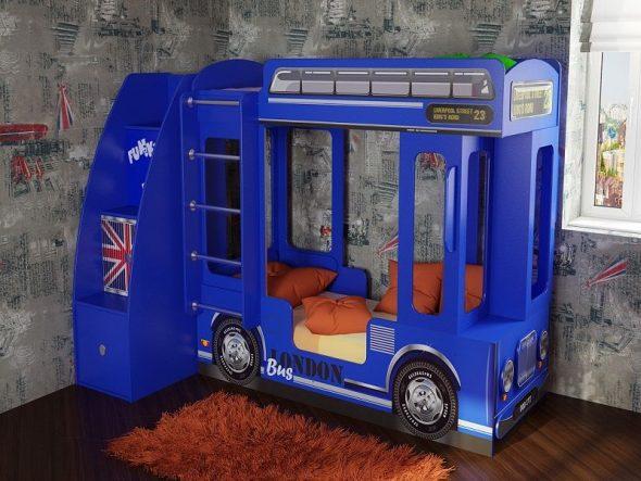 Автобус Фанки синий