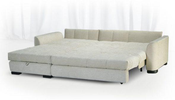 Белый диван Аскона