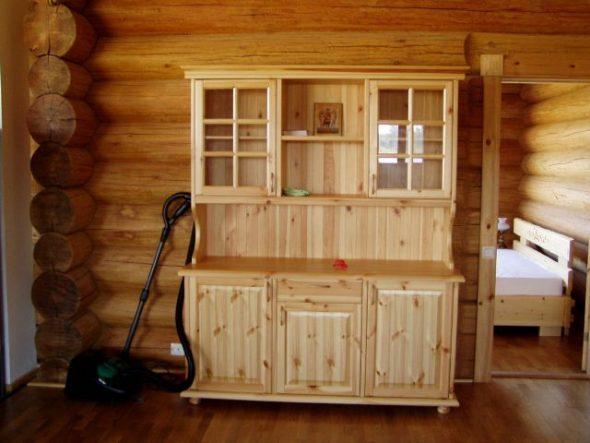 Буфет деревянной