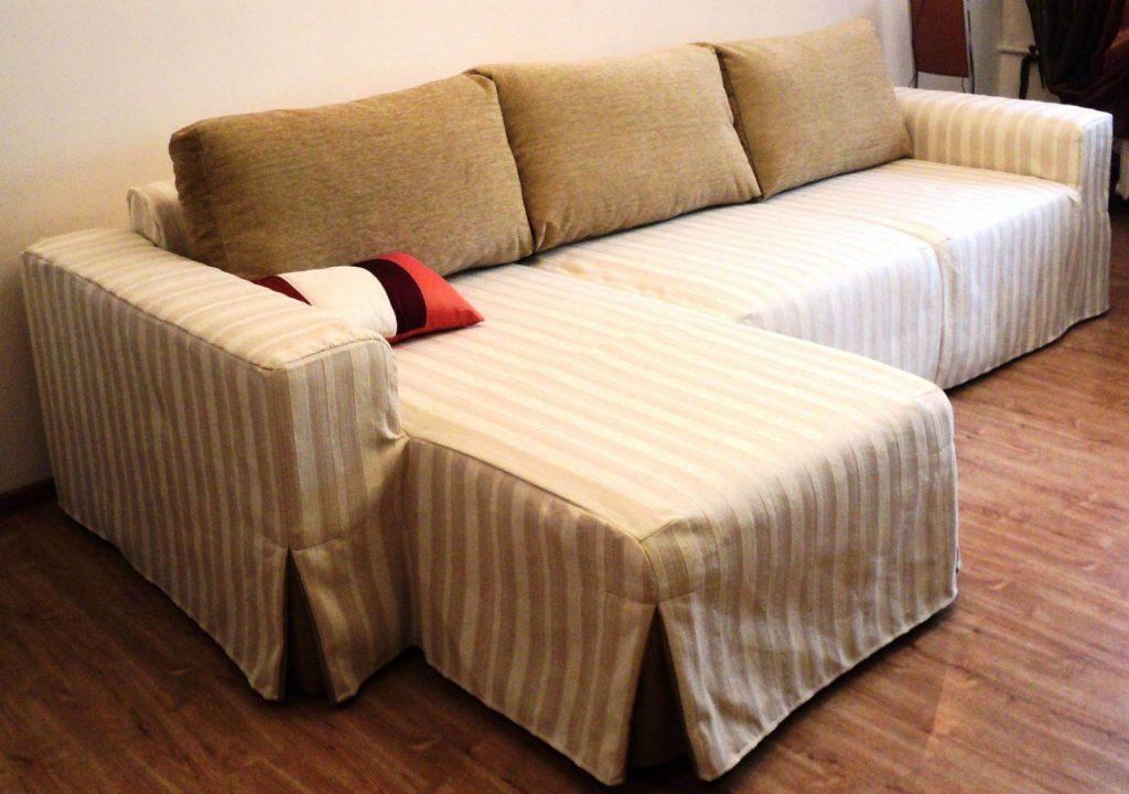 Накидки на угловой диван и кресла своими руками фото 56