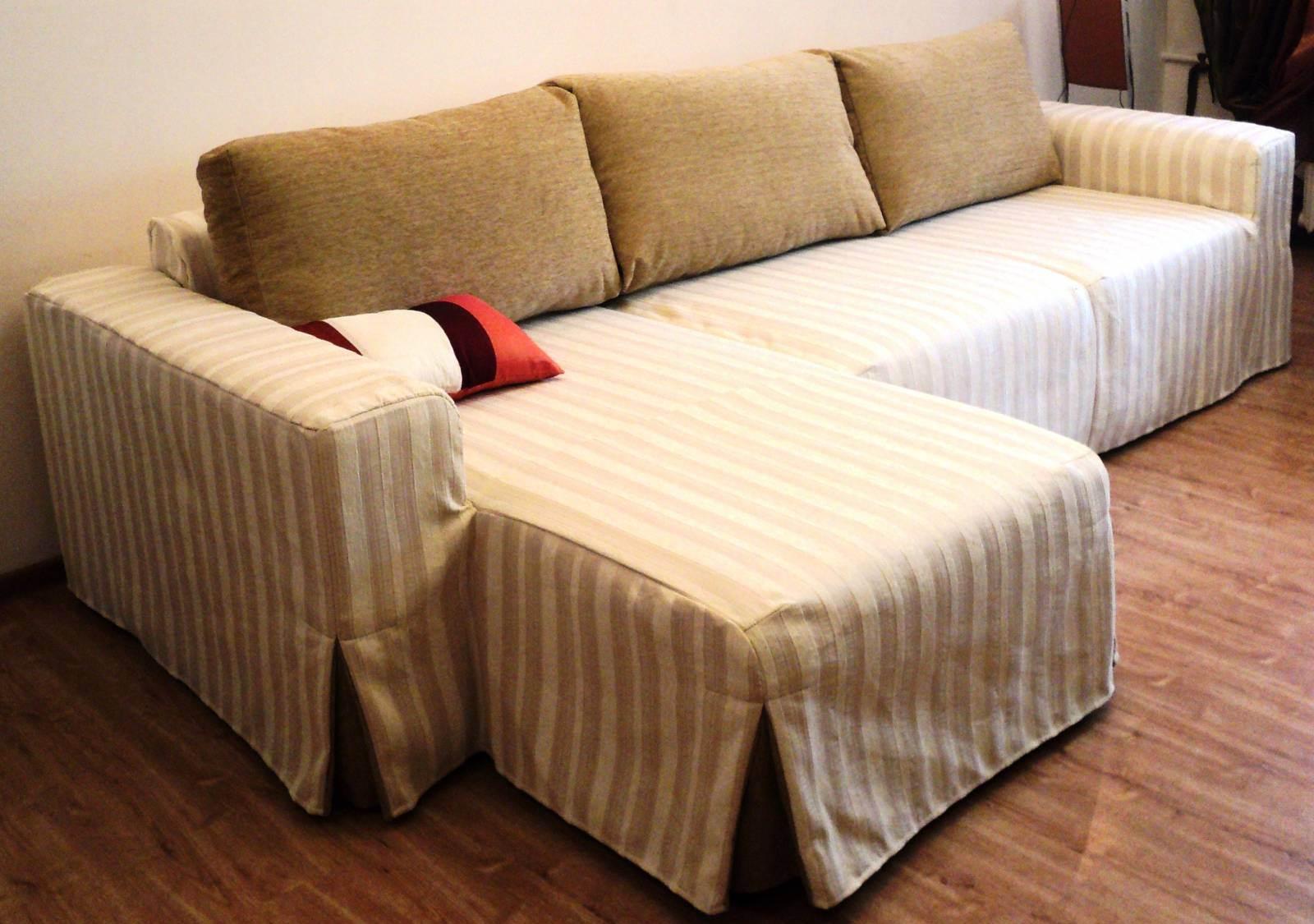 Чехол на диван универсальный своими руками