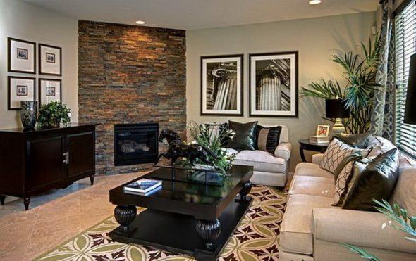 Черная мебель в интерьере дома