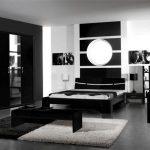 Черная мебель в интерьере спальни фото