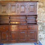 Деревянный шкаф-буфет