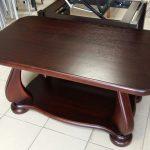 Деревянный журнальный стол Эдем