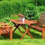 деревянная садовая мебель своими руками