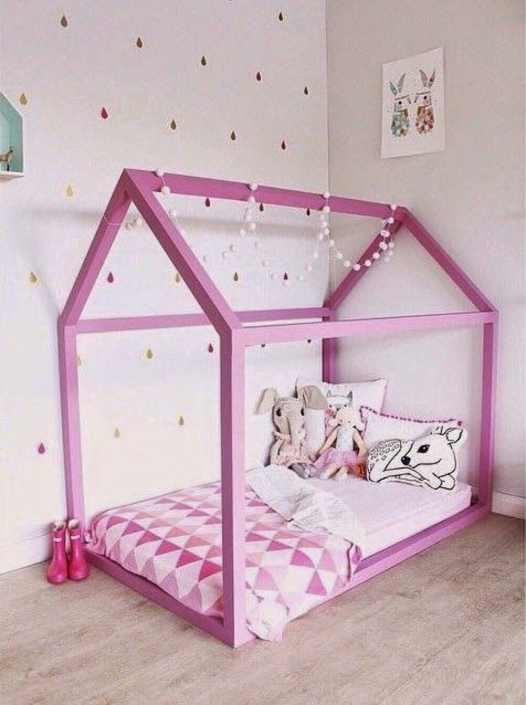 Кровать для девочки чертежи