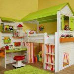 Домик в детскую комнату с игровой зоной своими руками