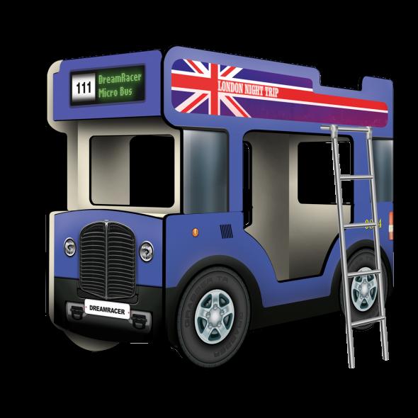 Двухъярусная кровать-Автобус МикроБас