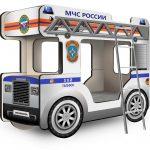 Двухъярусная кровать-Автобус ОмниБус