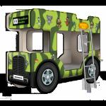 Двухъярусная кровать-Автобус Sleeping Bus