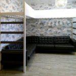 Двухъярусная кровать для взрослых в современном стиле