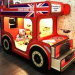 Двухъярусной кровати Автобус для детей