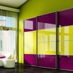 Фасады из декоративного зеркала для шкафов-купе