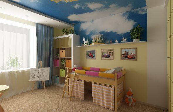 Фен шуй детской комнаты фото