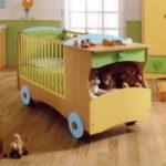 Изготавливаем детскую кровать
