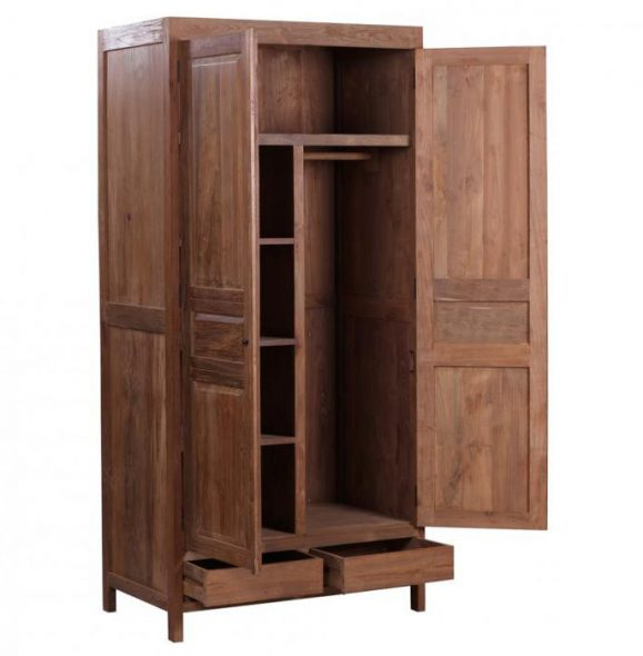 Изготовление шкафа из массива дерева