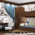 Комната для 2 подростков