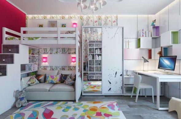 Комната для детей младшего школьного возраста