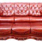Кожаный диван Консул