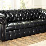 Кожаный диван - престиж и уют