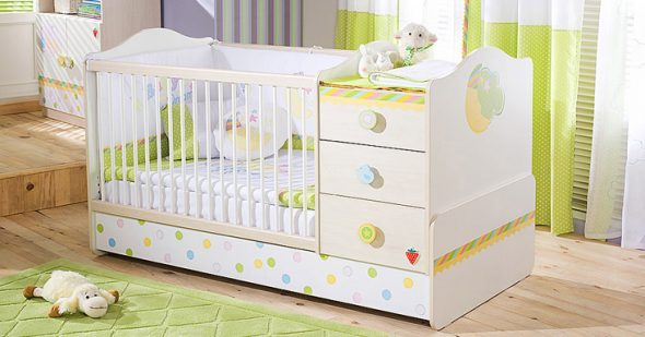 кровать для новорожденного