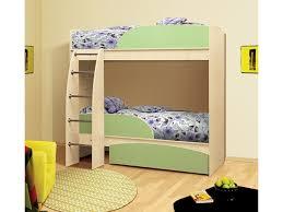 Кровать двухъярусная ЛДСП