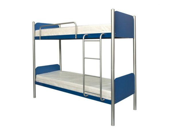 Кровать двухъярусная металлическая Арлекино