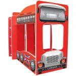 Кровать машина автобус Лондон фото