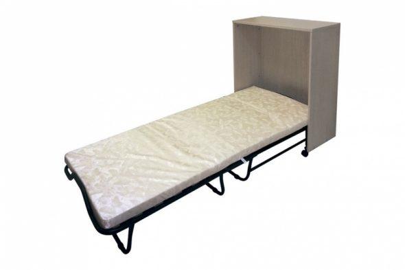 Кровать-тумбочка с раскладушкой