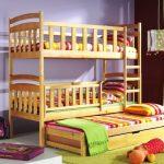 Кровать в три яруса