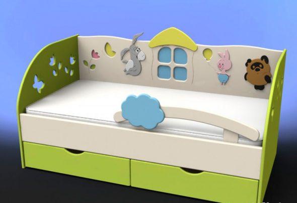 Кровати для детей от 2 лет