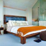 кровати двуспальные деревянные фото