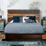 кровати двуспальные деревянные современные