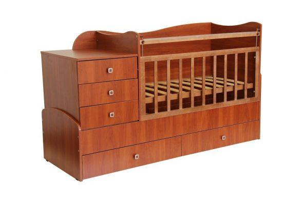 Кроватка-трансформер большая