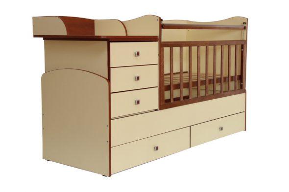 Купленные по отдельности детская кроватка