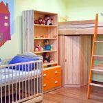 Маленькие комнаты для двух разновозрастных детей