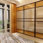 Матовое стекло лакомат для шкафа-купе