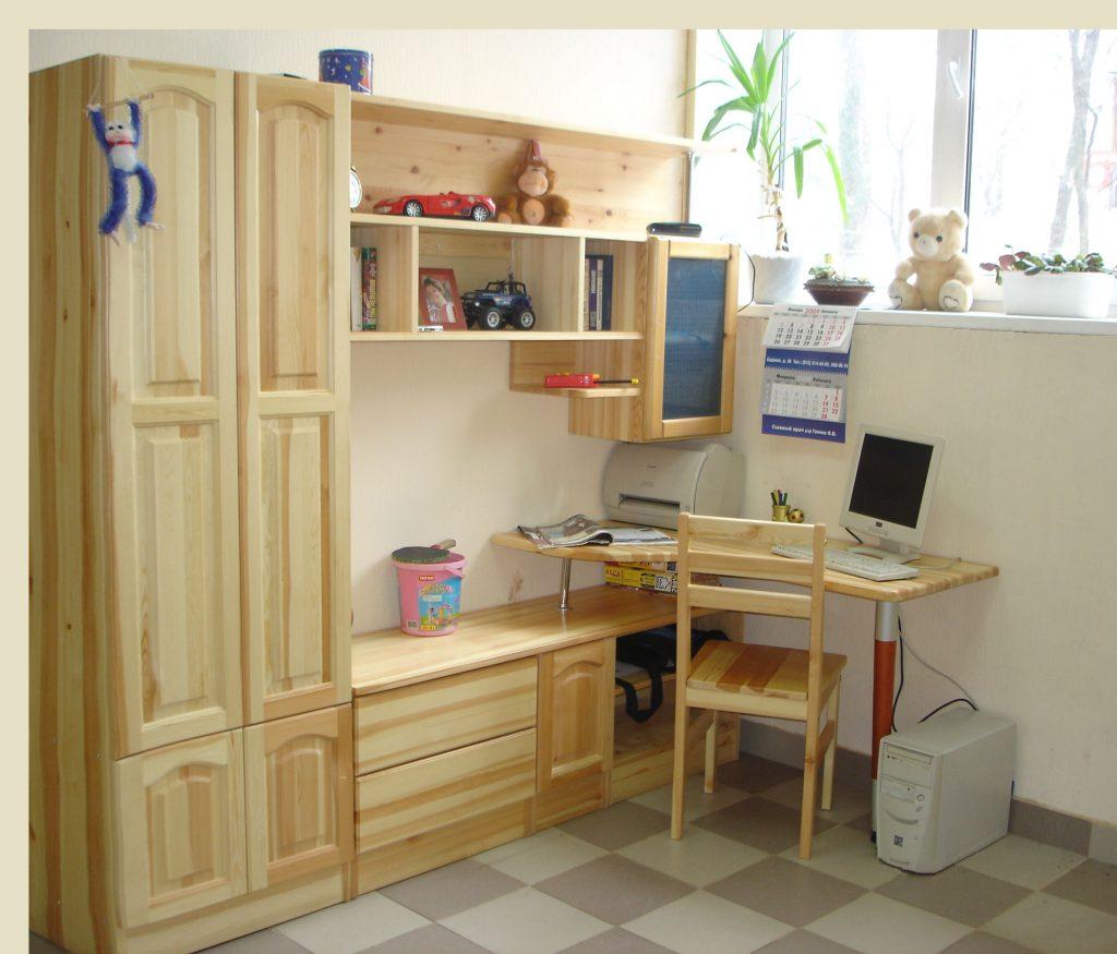 Модульная мебель из дерева своими руками