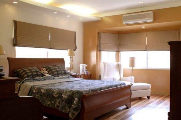 Неблагоприятное расположение кровати изголовьем к окну