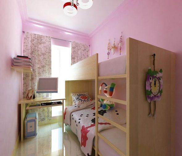Очень маленькая комната для девочки