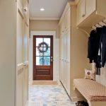 прихожая для узкого коридора мебель