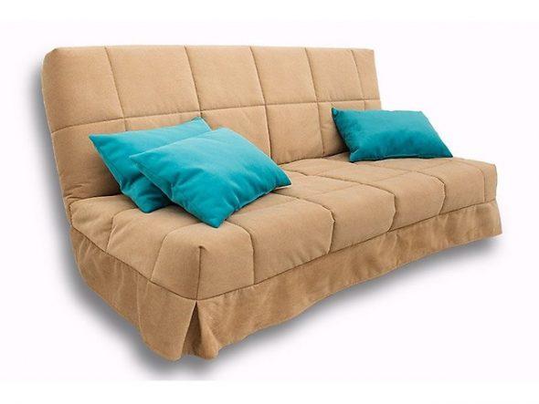 Прямой диван без подлокотников
