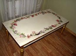 Реставрация старого кухонного стола своими руками