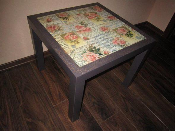 Реставрировать кухонный стол своими руками