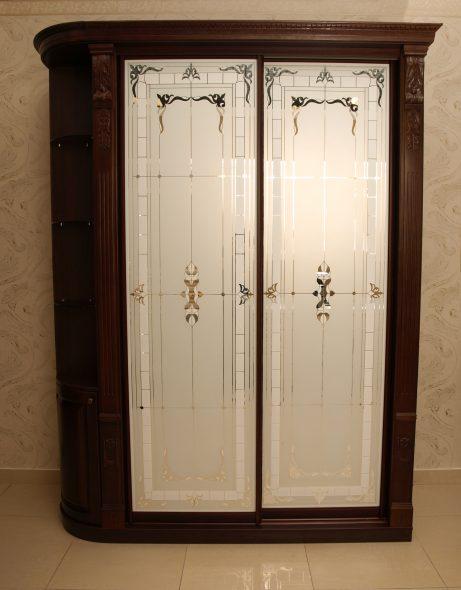 Шкаф-купе классика (фасады-зеркала)
